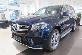Эвакуатор для Mercedes-Benz GLS-класс